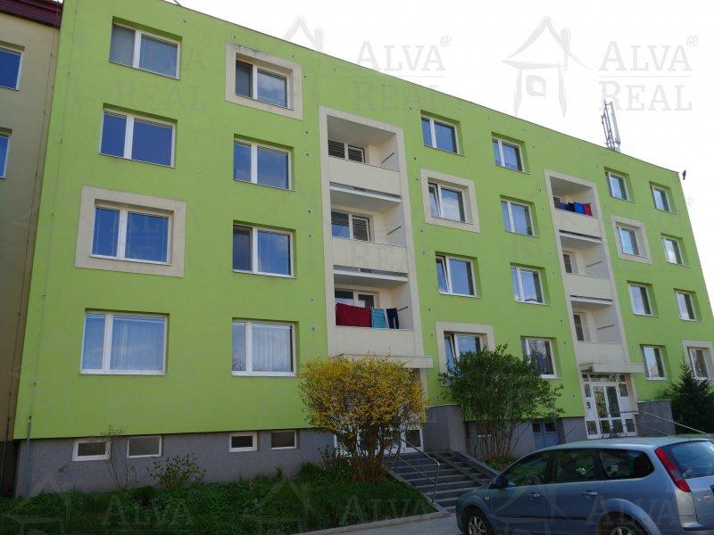 Dlouhodobý pronájem bytu 1+1 s lodžií v Brně Bystrci na ul. Vondrákova.