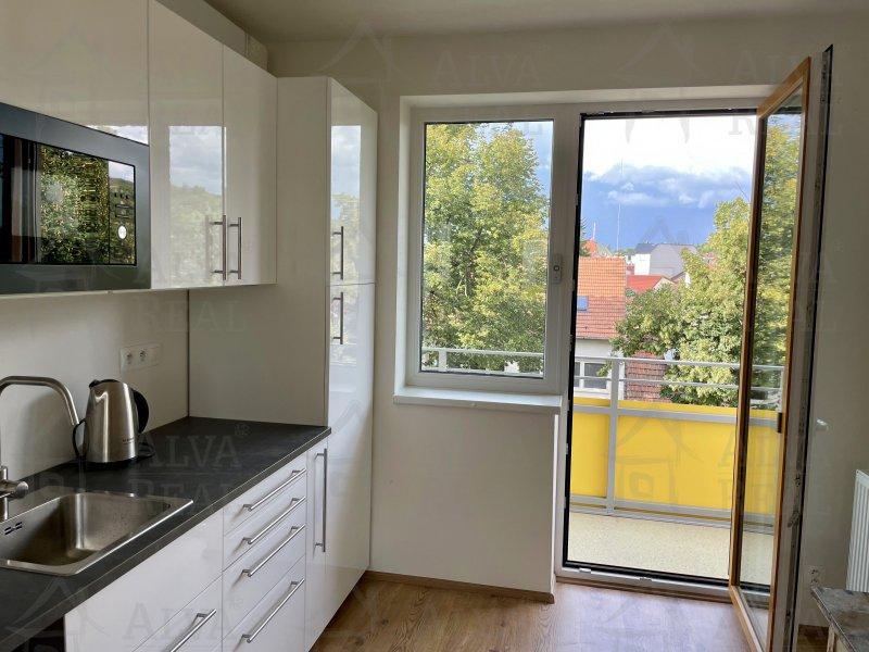 Nabízíme Vám k pronájmu novostavbu bytu 1+kk v Židenicích, vstup ze strany Vančurova |  | Brno